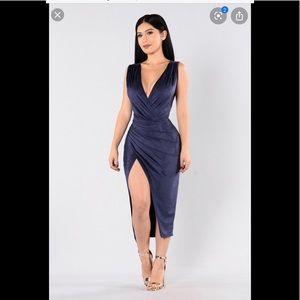 Fashion Nova Navy dress